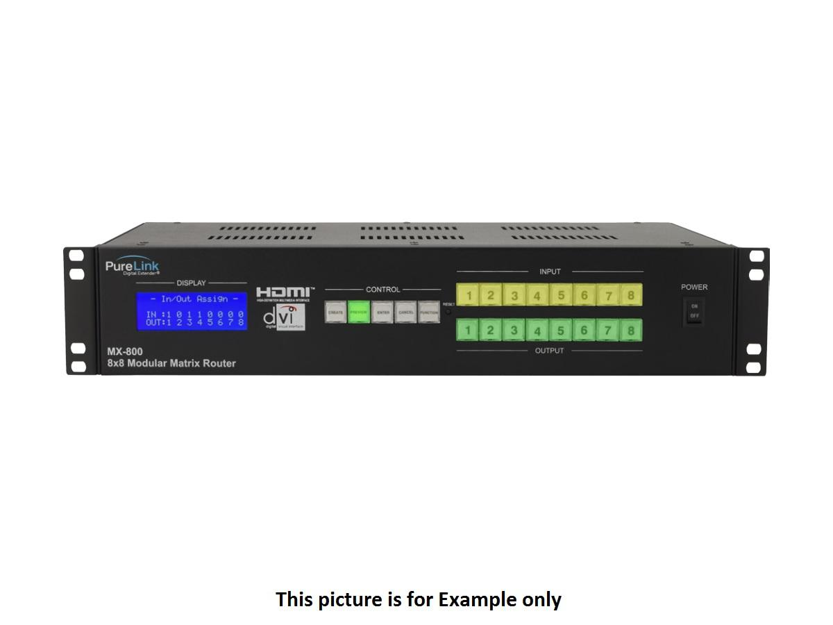 MX-DVI84 8x4 DVI Matrix Switcher/HDCP by PureLink