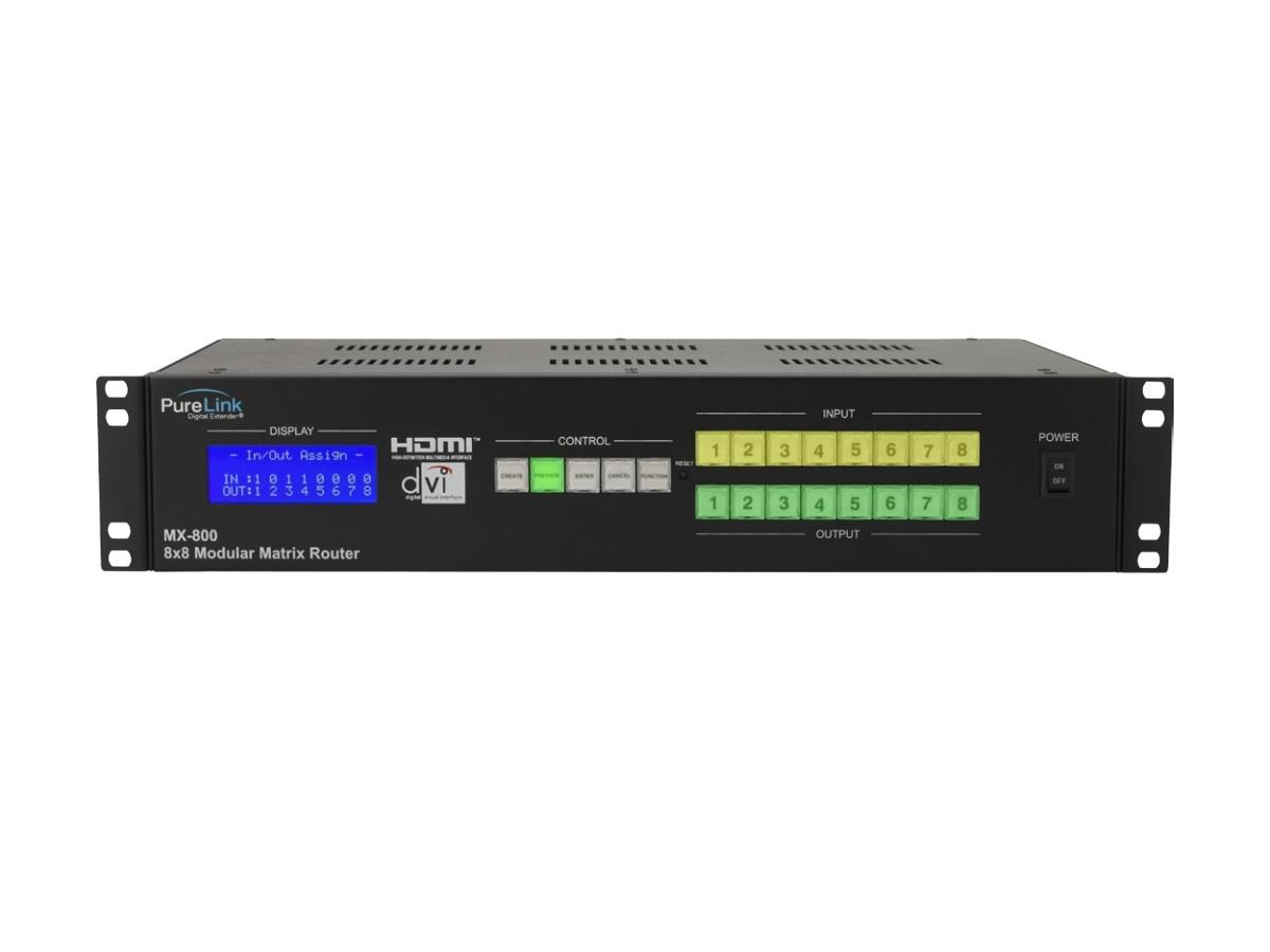 MX-DVI88 8x8 DVI Matrix Switcher/HDCP by PureLink