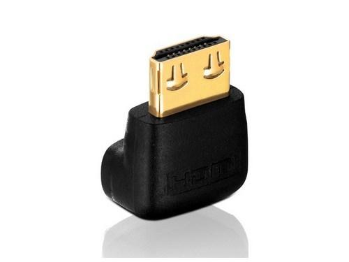 PI035 HDMI M to HDMI F 90 degree Adapter with TotalWire Technology by PureLink