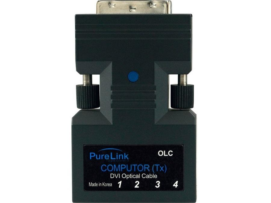 OLC TX DVI to Fiber Optic Extender (Transmitter) with cable by PureLink
