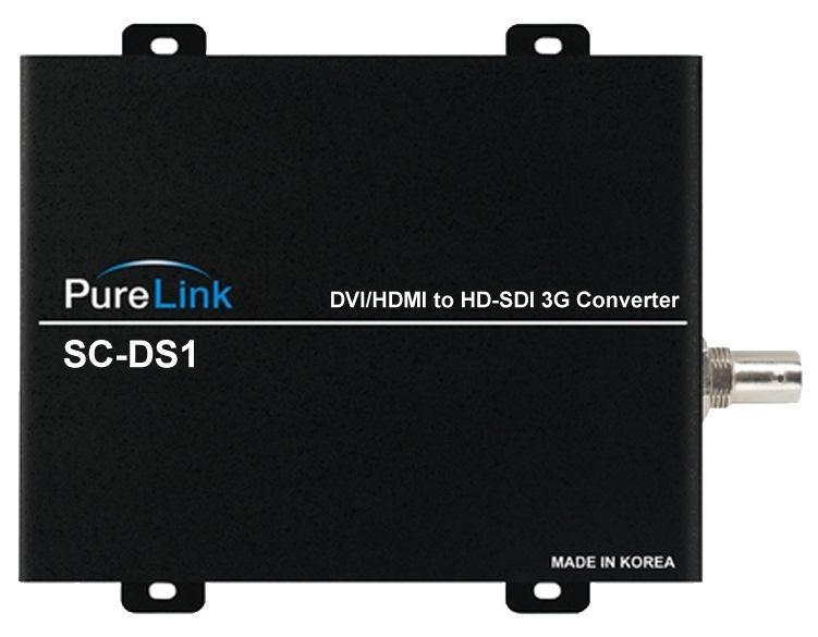 SC-DS1 DVI/HDMI to 3G-SDI Converter by PureLink