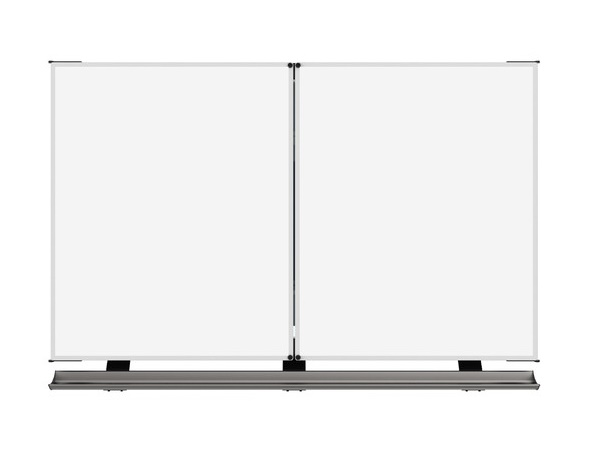 QBB481A76001 4 Whiteboard Surfaces and 2 Whiteboards for 80-86 inch Panel by QOMO