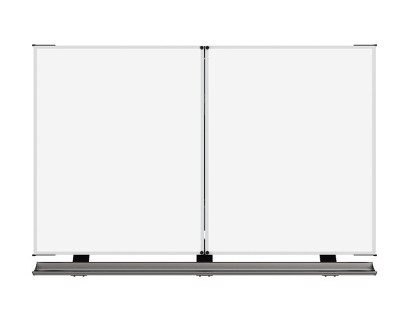QBB481A76003 4 Whiteboard Surfaces and 2 Whiteboards for 60-65 inch Panel by QOMO