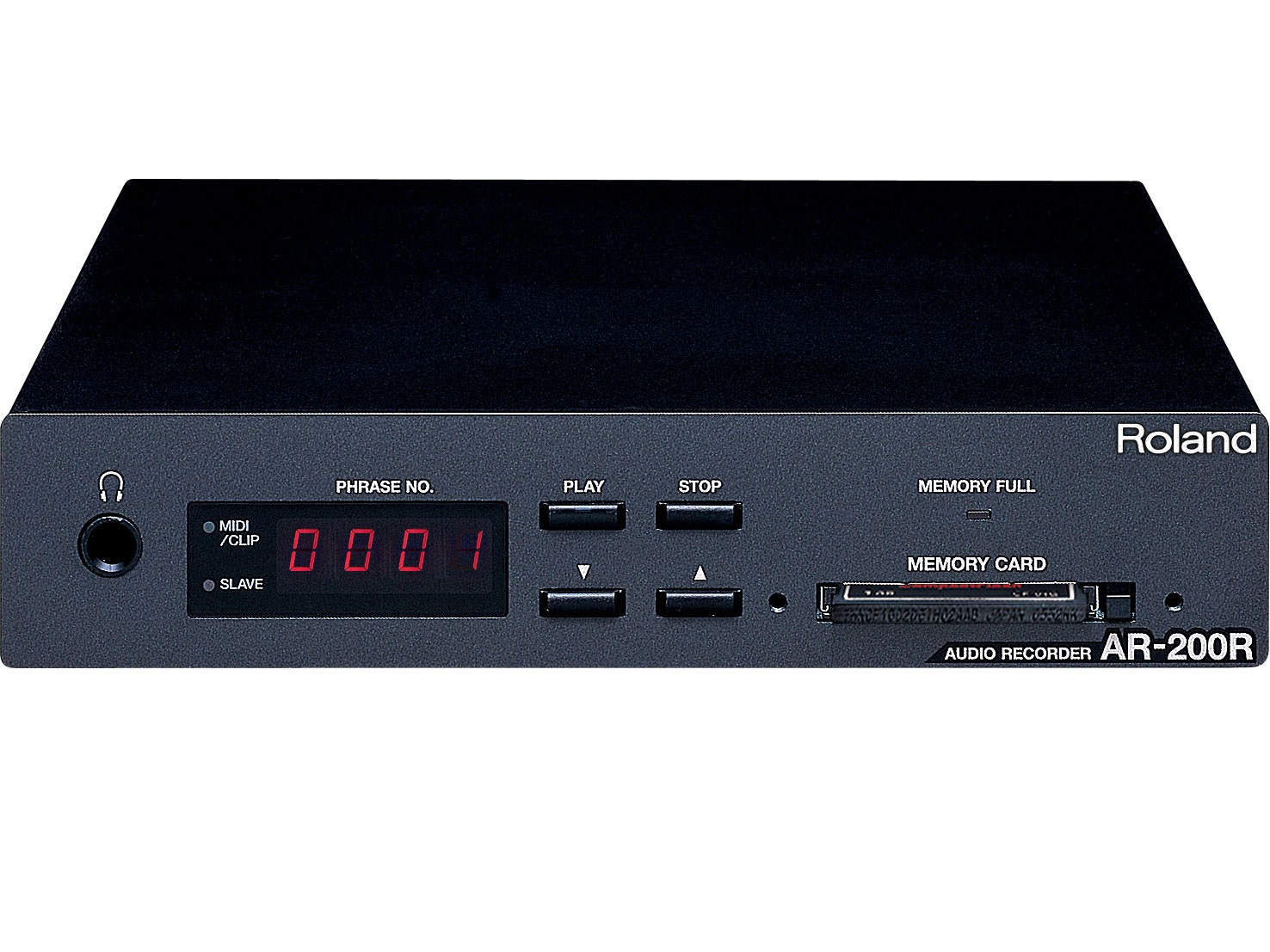 AR-200R Half 1U Rack Space Digital Audio Recorder by Roland