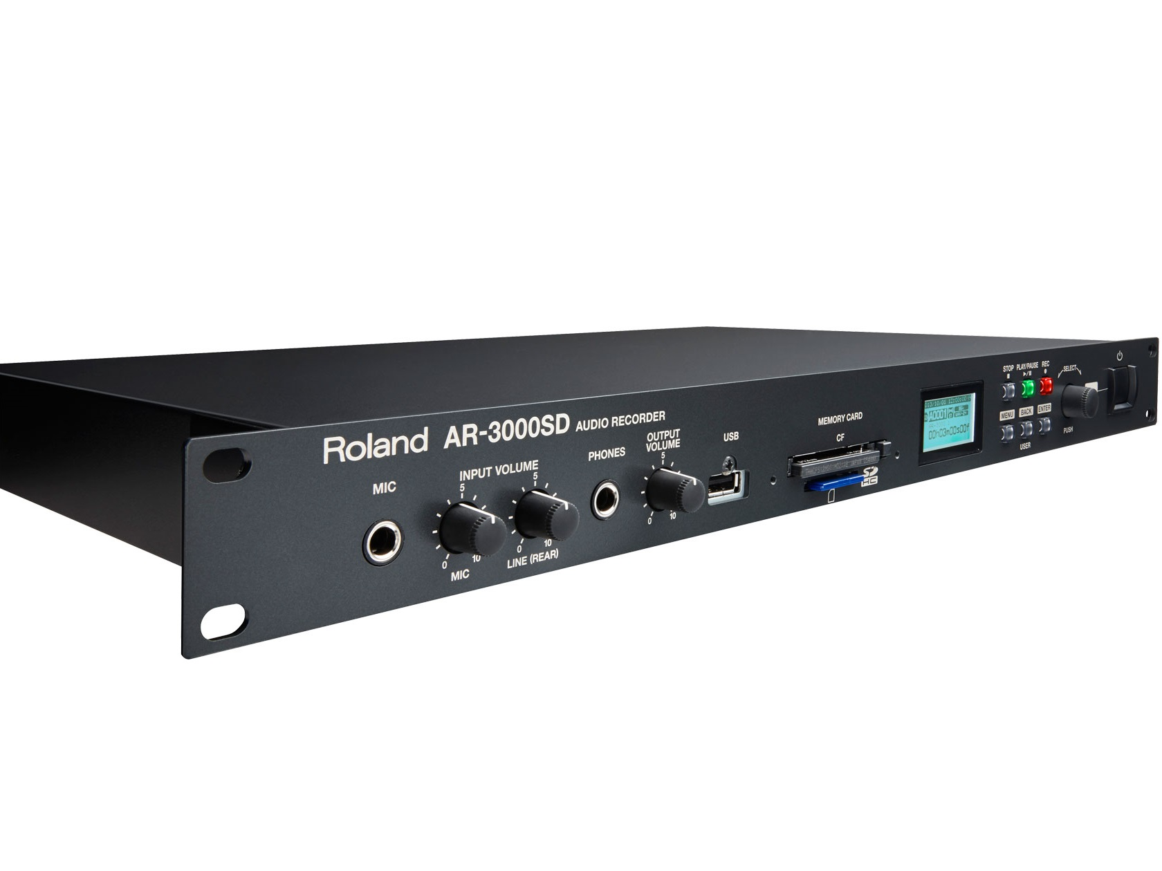 AR-3000SD Dependable Digital Audio Recorder by Roland