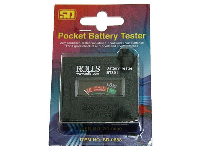 BT301 Battery Tester by Rolls