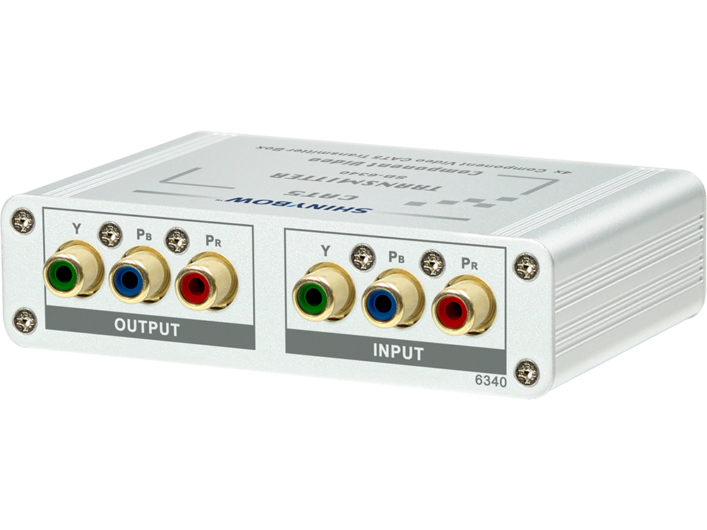 SB-6340 4Way Component Video Cat5 Extender (Transmitter) by Shinybow