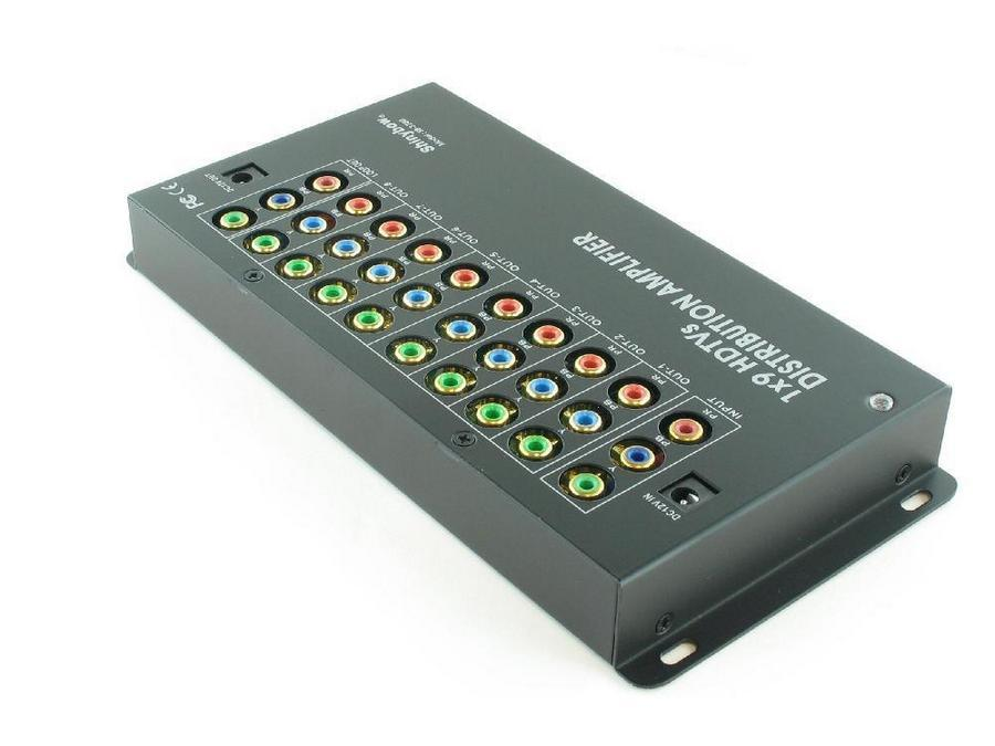 SB-3780 1x9 Component Video Distribution Amplifier by Shinybow