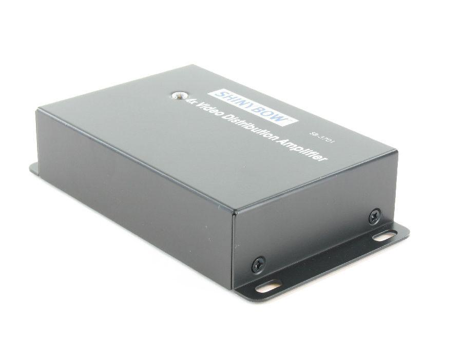 SB-3701RCA 1x4 Composite Video Digital Distribution Amplifier by Shinybow