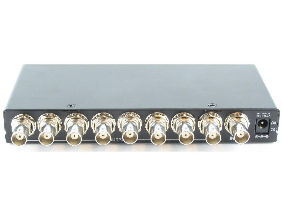 SB-3706BNC 1x8 Video(BNC) Distribution Amplifier by Shinybow