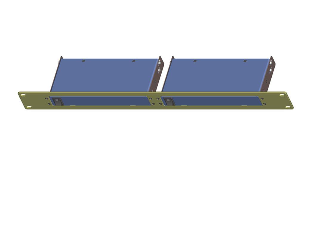 SB-6076B Rackmount Bracket for SB-54xx and SB-37xx DOUBLE by Shinybow