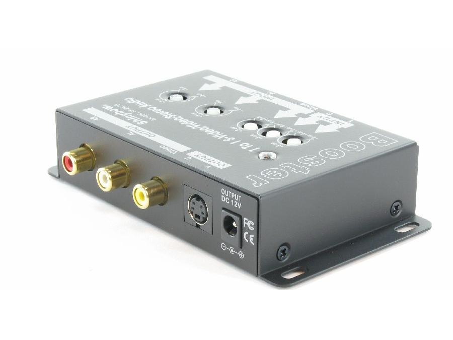 SB-2810 1x1 S-Video/Video/Stereo Audio Booster by Shinybow