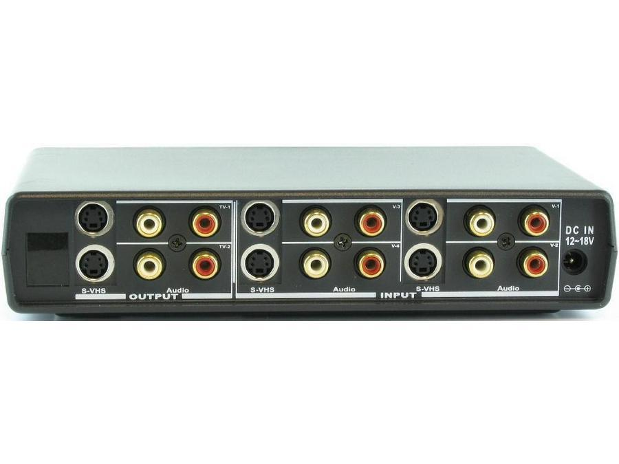 SB-5425 4x2 Auto S-Video/Audio Switcher by Shinybow