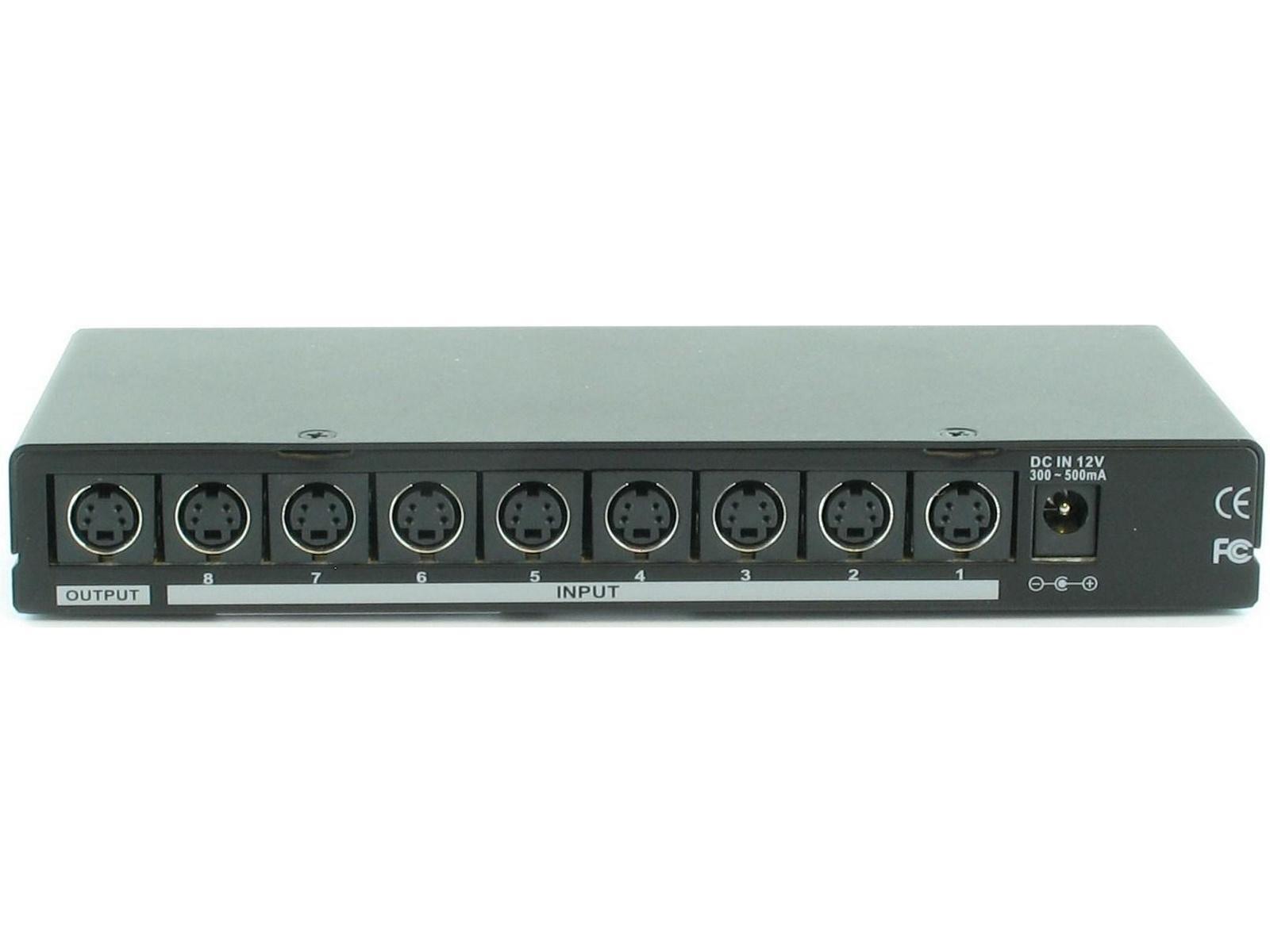 SB-5440SV 8x1 S-Video Switcher by Shinybow