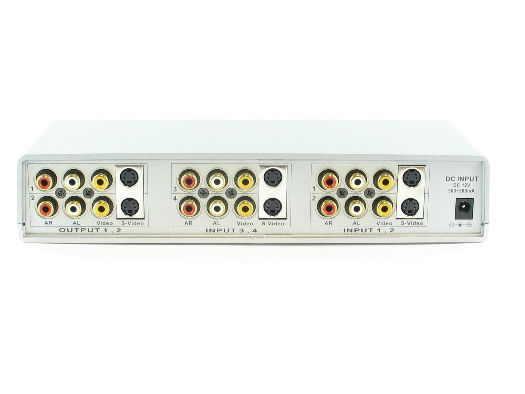 SB-5450 4x2 S-Video Matrix Switch by Shinybow