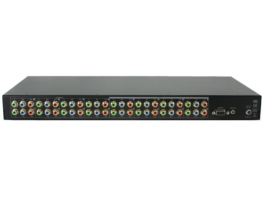 SB-8802 8x8 Component HDTV Video (without audio) Video Matrix Routing Switcher by Shinybow