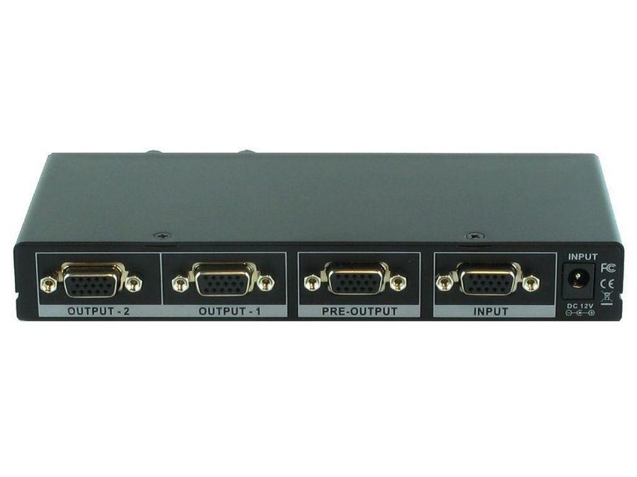 SB-1102G 1x2 VGA(RGBHV) Splitter by Shinybow