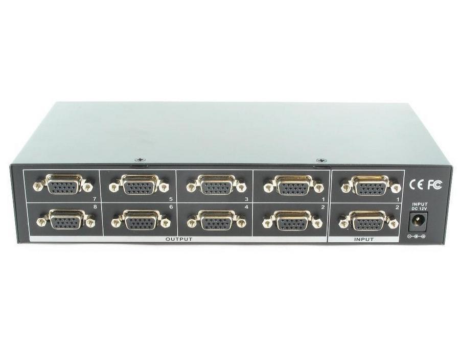 SB-1110 2x8 VGA Switcher   VGA Distribution Amplifier by Shinybow