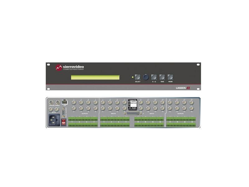 1616HD-XL Lassen XL 16 x 16 HD-SDI Matrix Switcher by Sierra Video