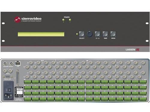 3232HDEE-XL Lassen 32x32 HD-SDI And Digital Audio Matrix Switcher by Sierra Video