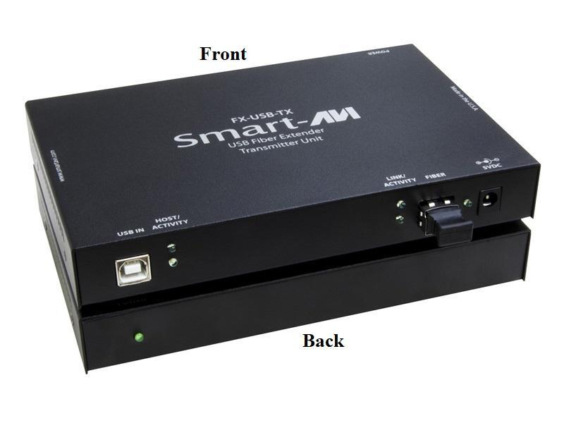 FX-USBS USB 2.0 Matrix over Multimode Fiber Extender (Transmitter/Receiver) Kit (1500ft/480Mbps) by Smartavi
