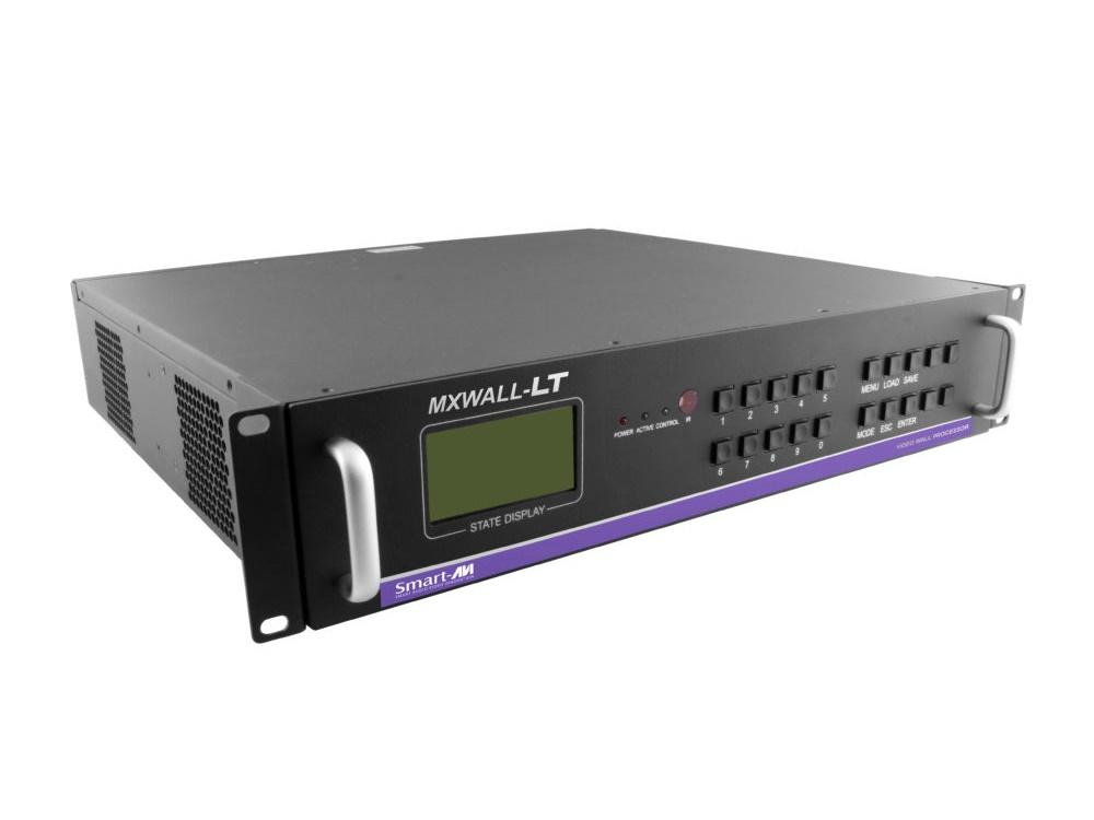 MXWall-LT-0408-S 4-Input HD Video Wall Processor and Matrix Switch w Expandable DVI Outputs (8-Outputs) by Smartavi