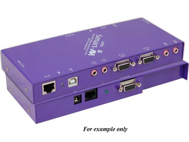 UXP-RXS 4-port USB VGA Audio RS-232/IR  CAT5 Extender (Receiver) (275ft/HDTV) by Smartavi