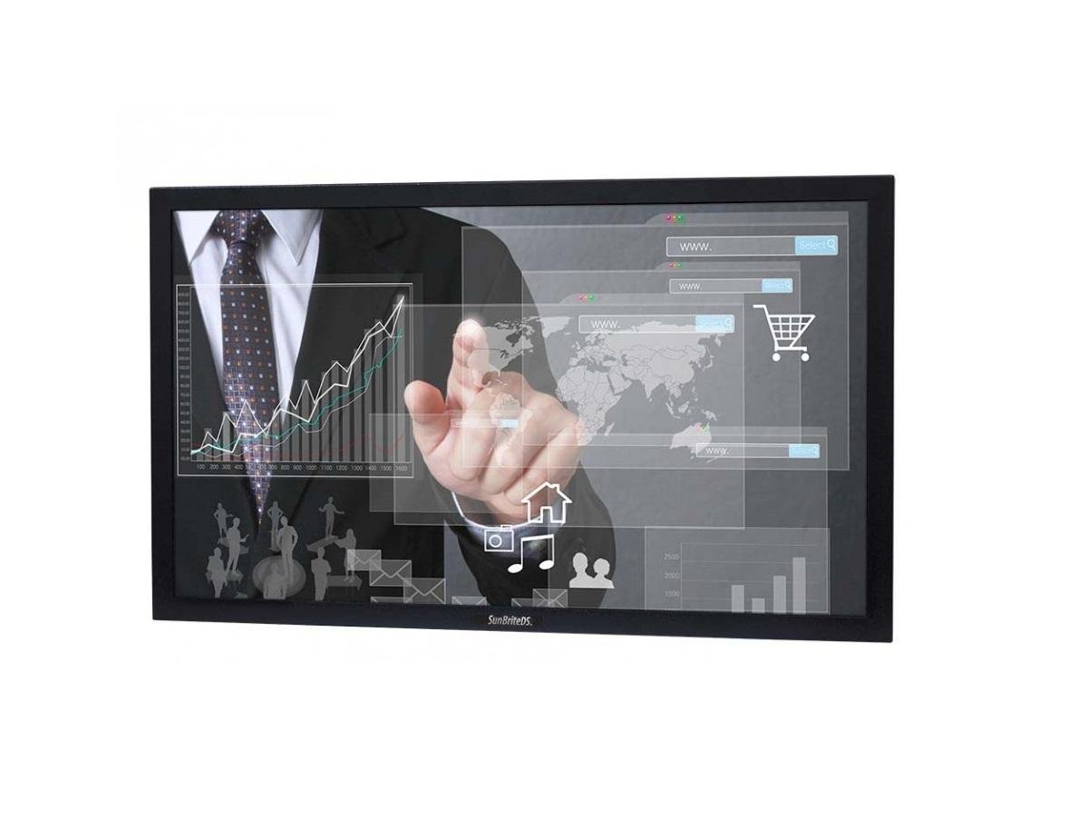 DS-4217TSP-BL 42 in Portrait Pro Series Outdoor Digital Signage/Black by SunBriteTV