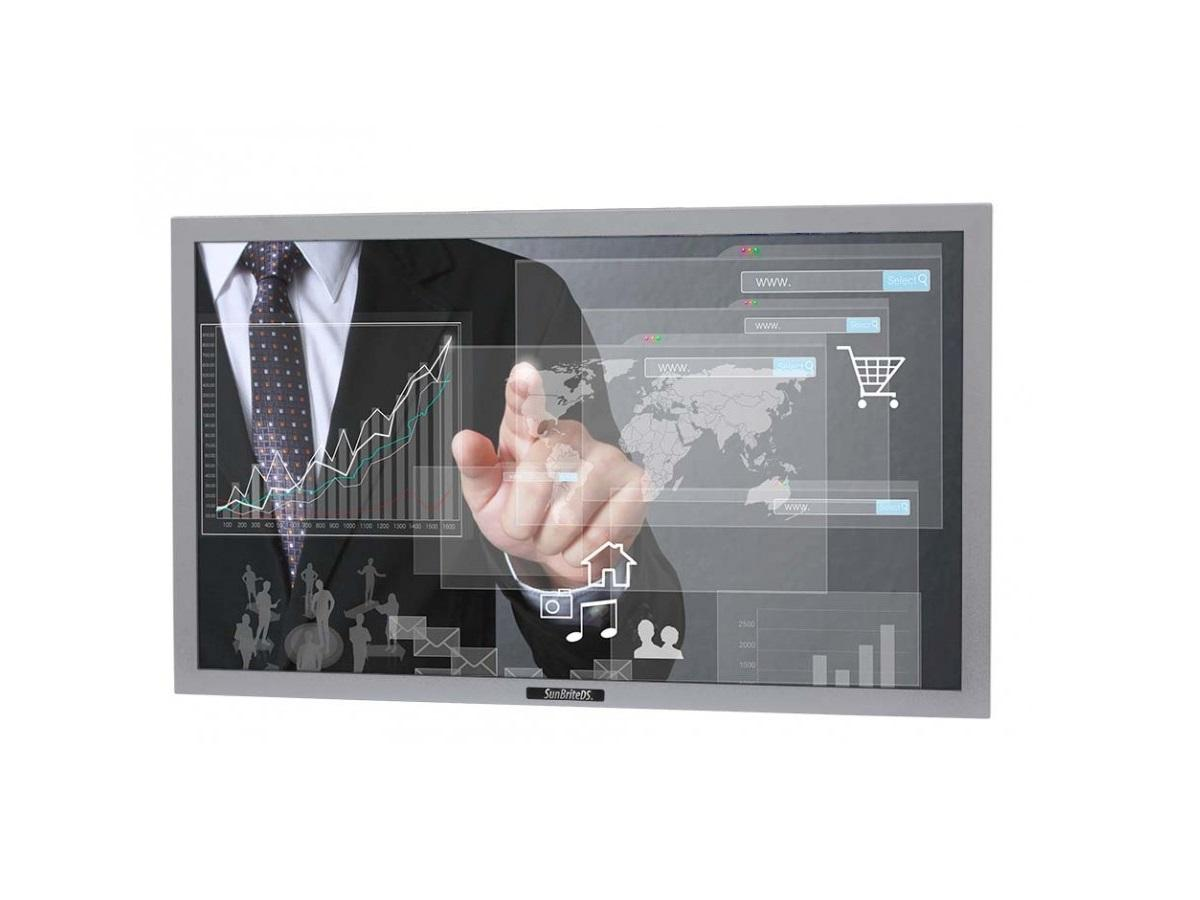 DS-4217TSP-SL 42in Portrait Pro Series Outdoor Digital Signage/Silver by SunBriteTV