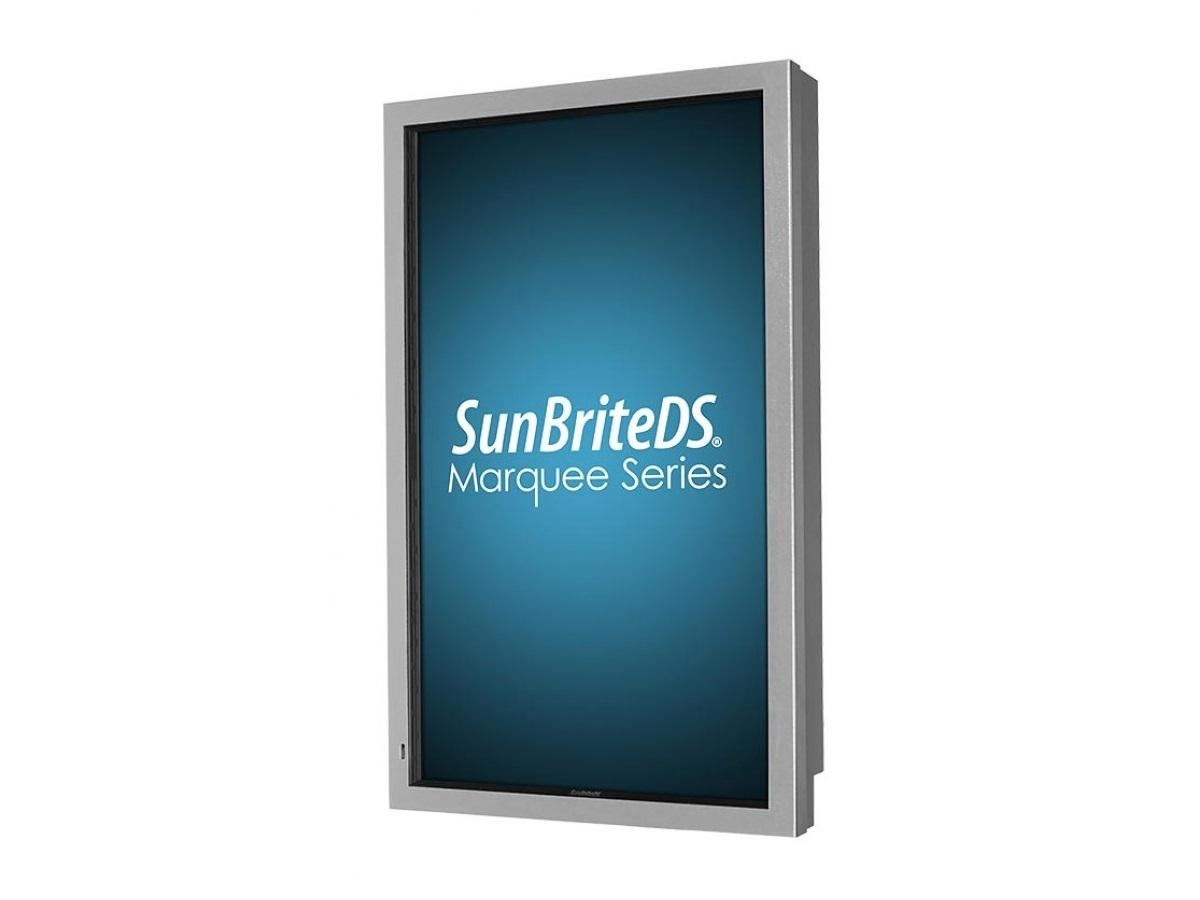 DS-4720P-SL 47 in Marquee Series All-Weather Digital Signage - Silver by SunBriteTV