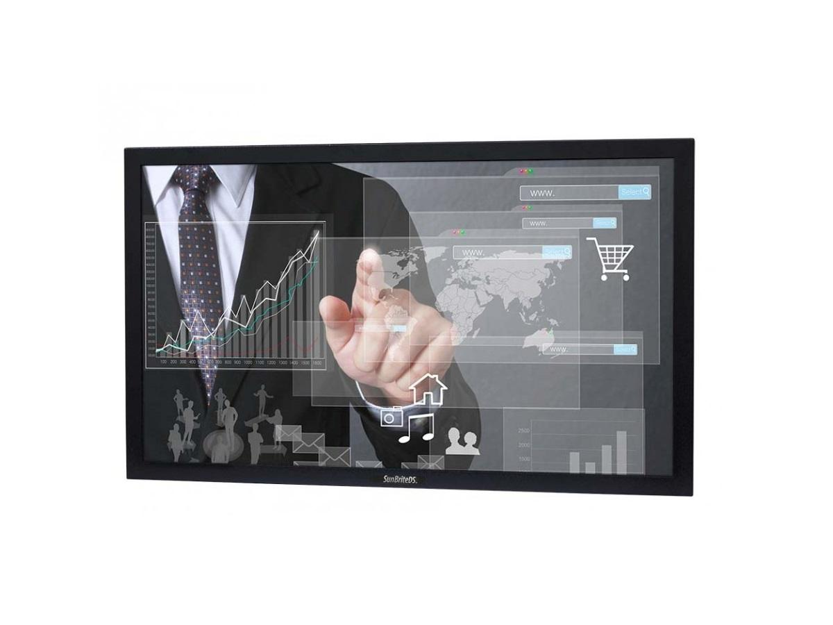 DS-4217TSL-BL 42 inch Pro Series Outdoor Touch Screen - Black by SunBriteTV