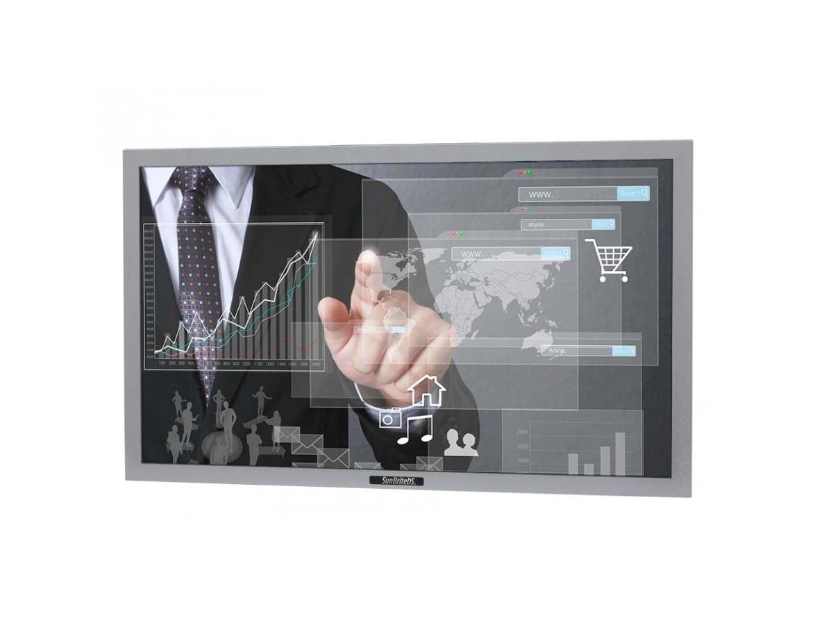 DS-4217TSL-SL 42 inch Pro Series Outdoor Touch Screen - Silver by SunBriteTV