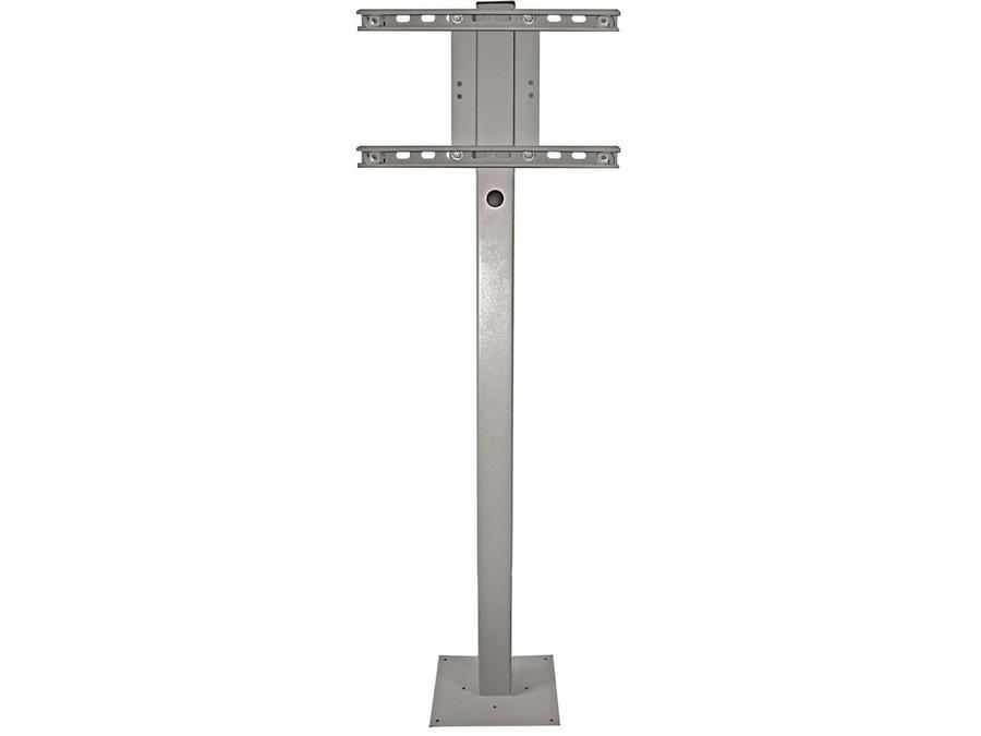 SB-DP46XA-WH 32/46/55/65in Deck Planter Pole White by SunBriteTV