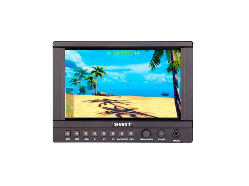 CM-S73H 7 inch 3000nit Full HD HDR 3DLUT 3GSDI/4KHDMI High Bright LCD Monitor by SWIT