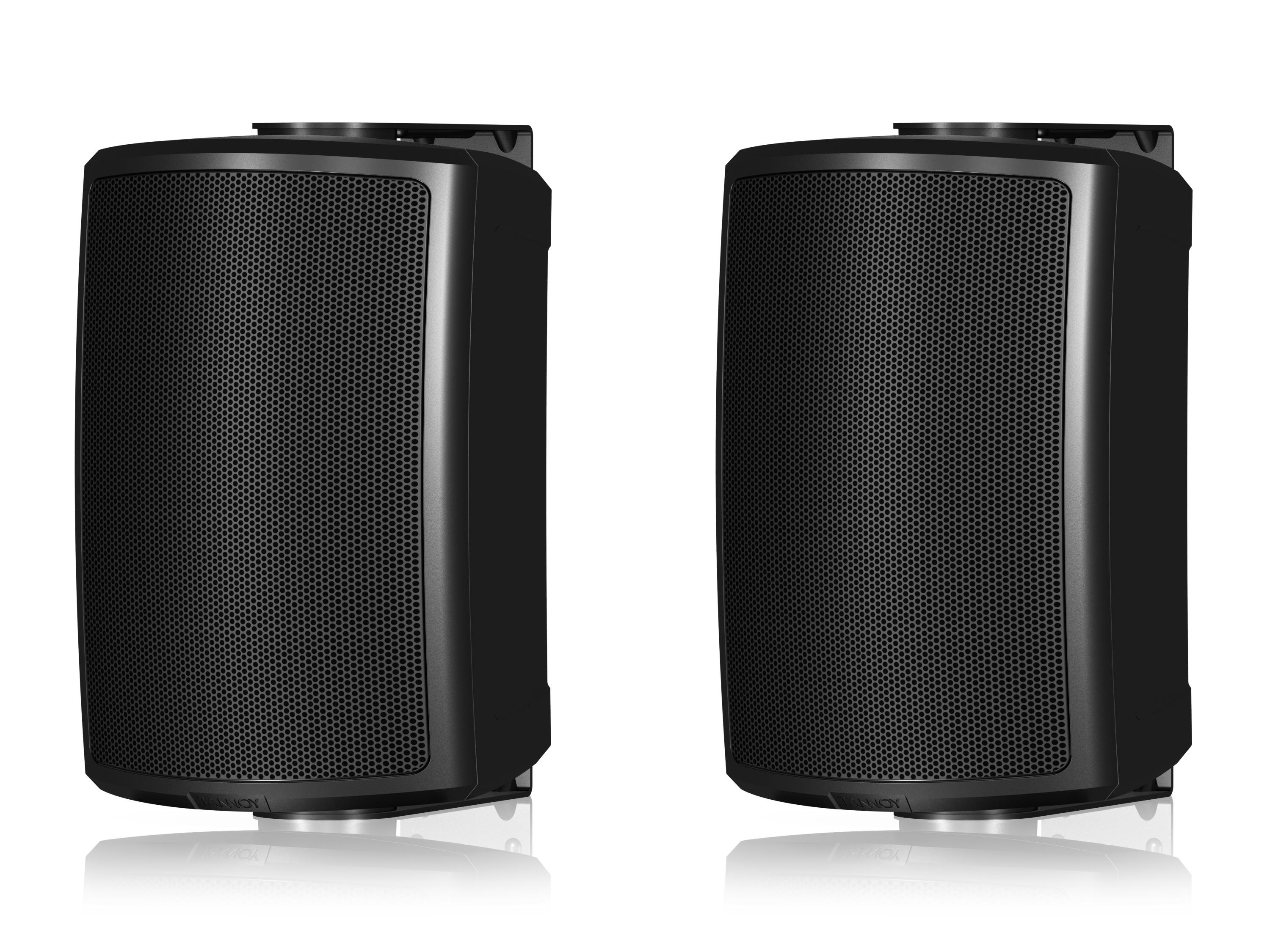 AMS 5DC 5 inch Dual Concentric Surface-Mount Loudspeaker/Black/Pair by Tannoy