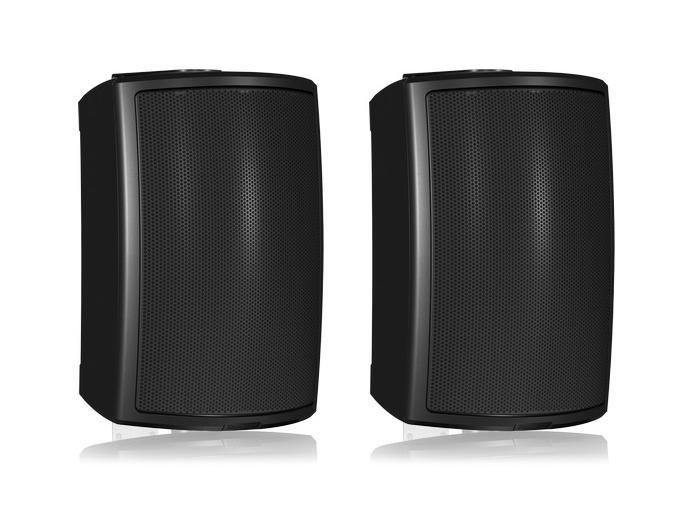AMS 6DC 6 inch Dual Concentric Surface-Mount Loudspeaker/Black/Pair by Tannoy