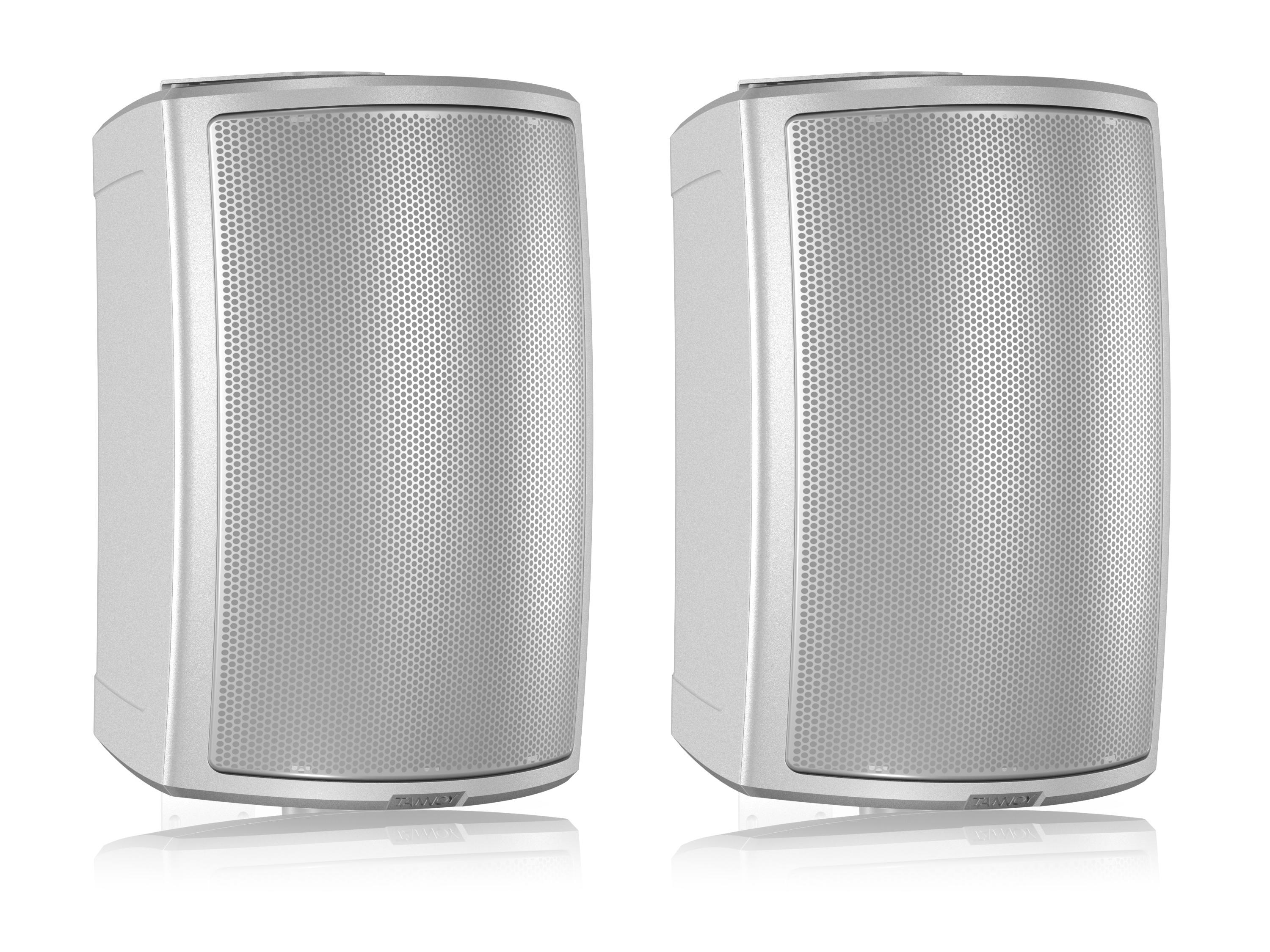 AMS 6DC-WH 6 inch Dual Concentric Surface-Mount Loudspeaker/White/Pair by Tannoy
