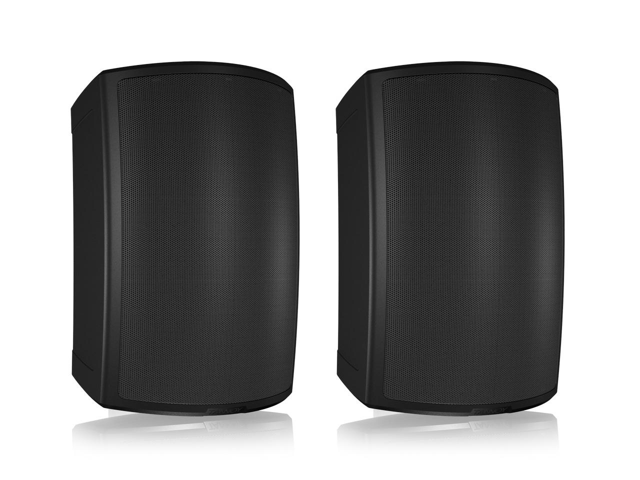 AMS 8DC 8 inch Dual Concentric Surface-Mount Loudspeaker/Black/Pair by Tannoy