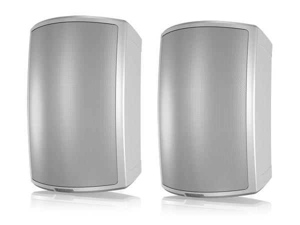 AMS 8DC-WH 8 inch Dual Concentric Surface-Mount Loudspeaker/White/Pair by Tannoy