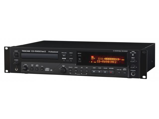 CD-RW901mkII Professional CD Recorder/Player with MP3 Playback by TASCAM