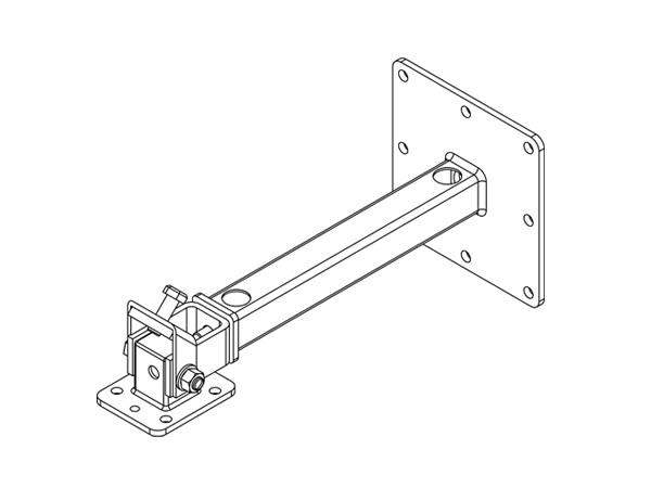 CB-55-WH Ceiling Bracket 55 kg in White by Turbosound