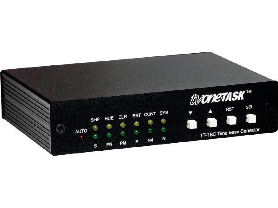 1T-TBC NTSC/PAL/SECAM Time Base Corrector by TV One