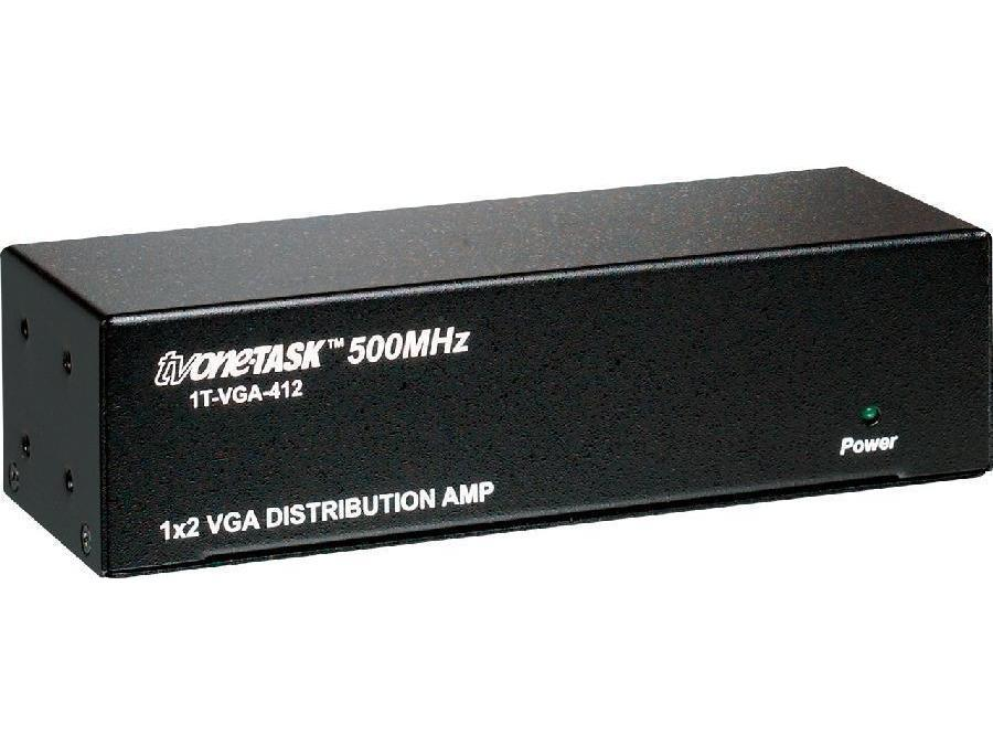 1T-VGA-412 1x2 RGB/YPbPr VGA Distribution Amplifier by TV One