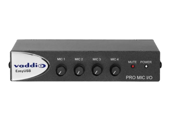 999-8520-000 EasyUSB PRO MIC I/O Microphone Interface for the EasyUSB Audio Solutions by Vaddio