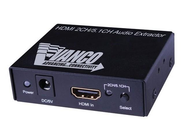280573 HDMI Audio Extractor by Vanco