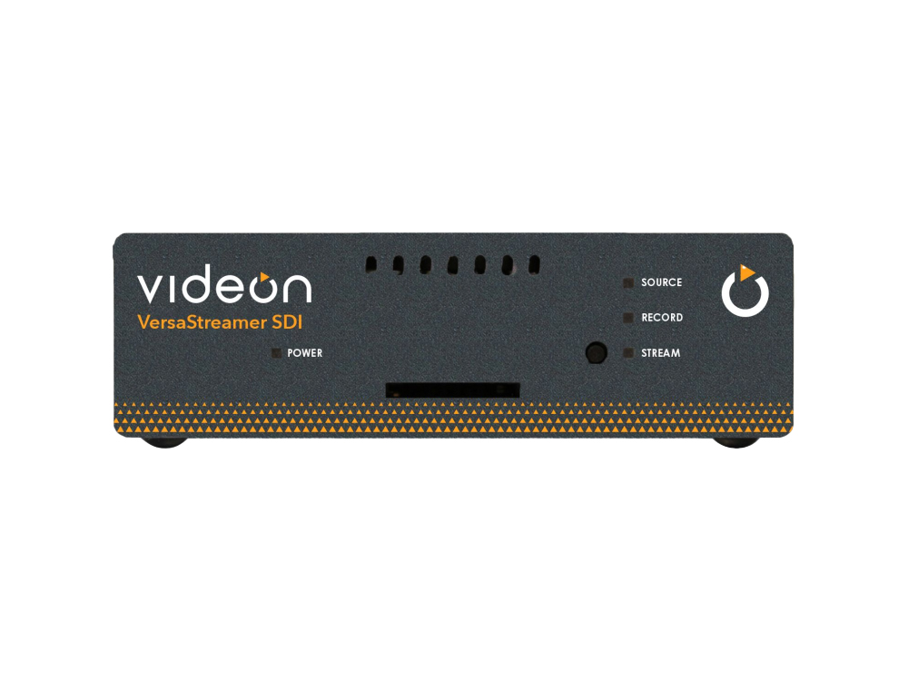10004893 VersaStreamer SDI HD 1080p60 Video Encoder with HEVC/H.264/3x RTMP/HLS by Videon
