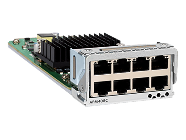 APM408C Netgear Expansion Module Port Card with 8x100M/1G/2.5G/5G/10GBASE-T for M4300-96X Switch by ZeeVee