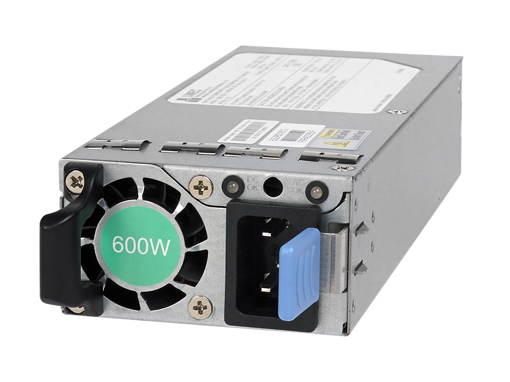 APS600W Netgear Modular 600W AC Power Supply Unit for M4300-96X (non-PoE Applications) by ZeeVee