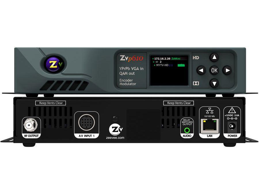 ZVPro610-NA VGA/RGB/YPrPb HD Video Distribution over Coax/Single Channel by ZeeVee