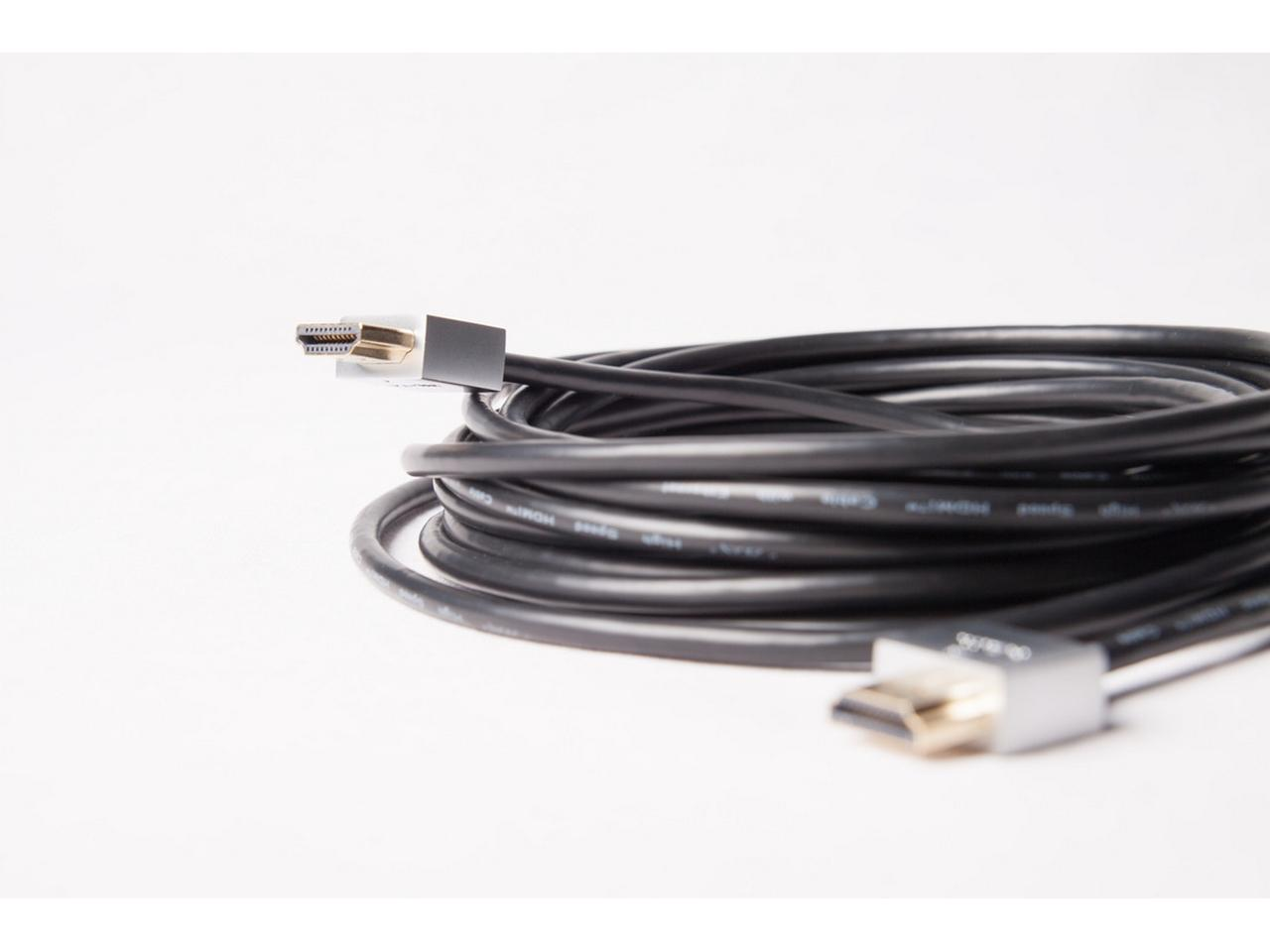 ZHSC-0.5M 4K High Speed Round HDMI Cable - 0.5m by Zigen
